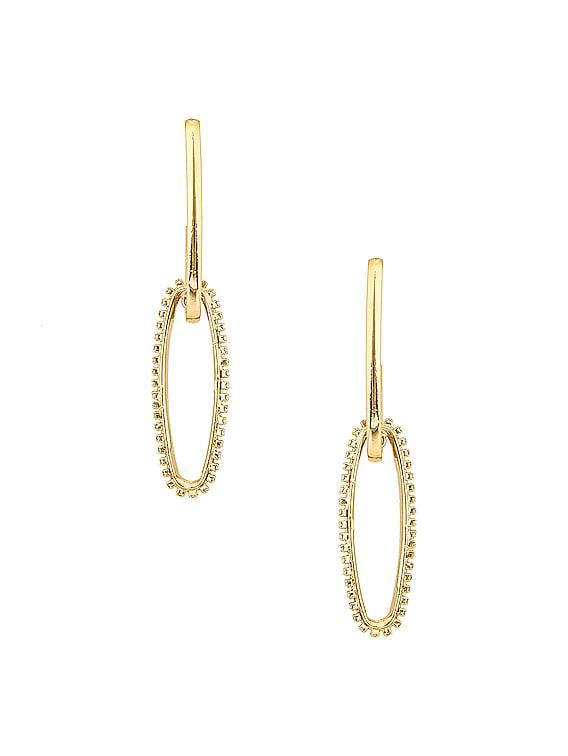 Louise Earrings in Gold