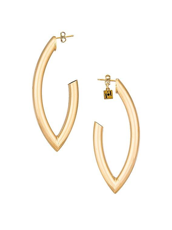 Lingotto Earrings in Gold