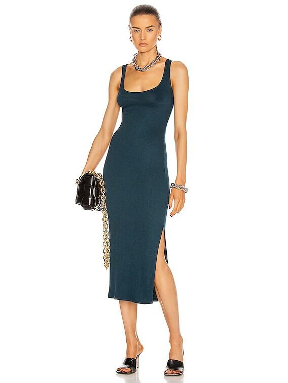 Milan Dress in Topaz