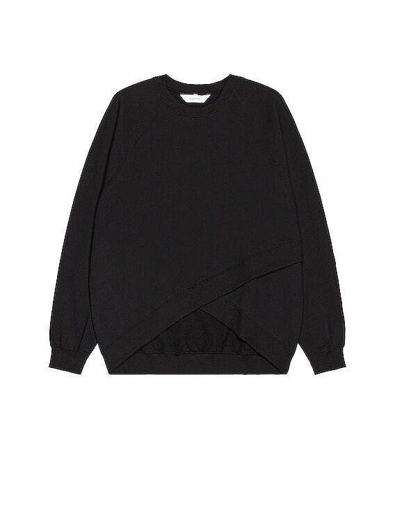 Bolero Sweatshirt in Black