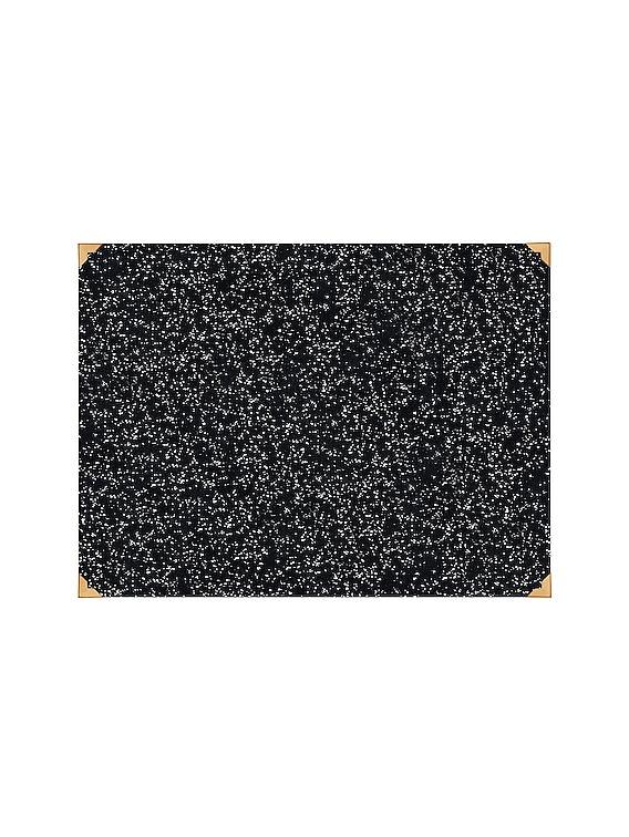 Desk Mat in Speckled Black