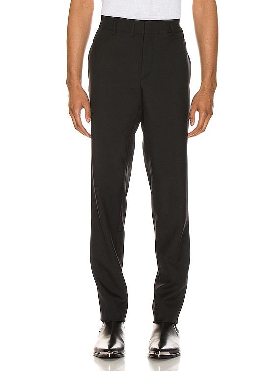 Gabardine Trouser in Black