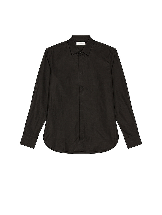 Classic Yves Shirt in Black