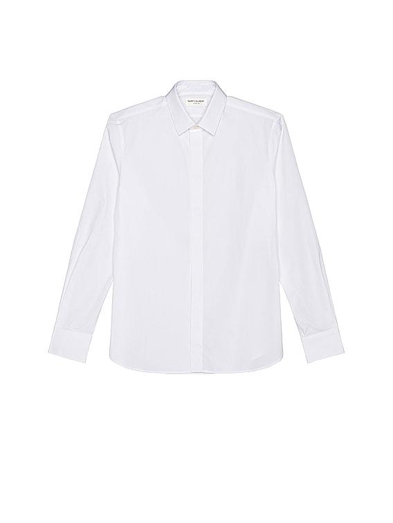 Classic Yves Shirt in White