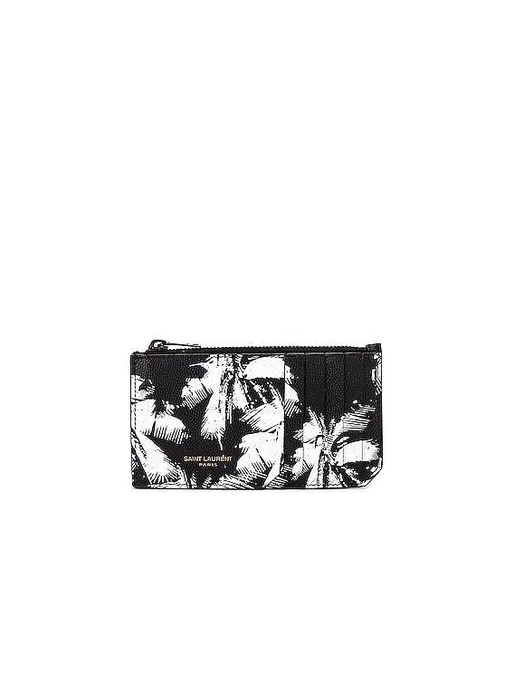 Credit Card Holder in Black & White