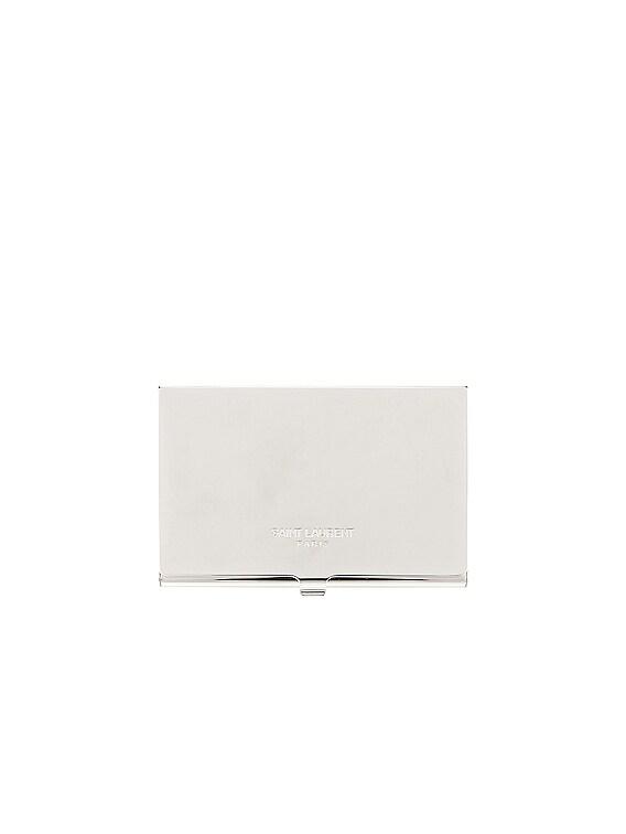 YSL Card Case in Palladio