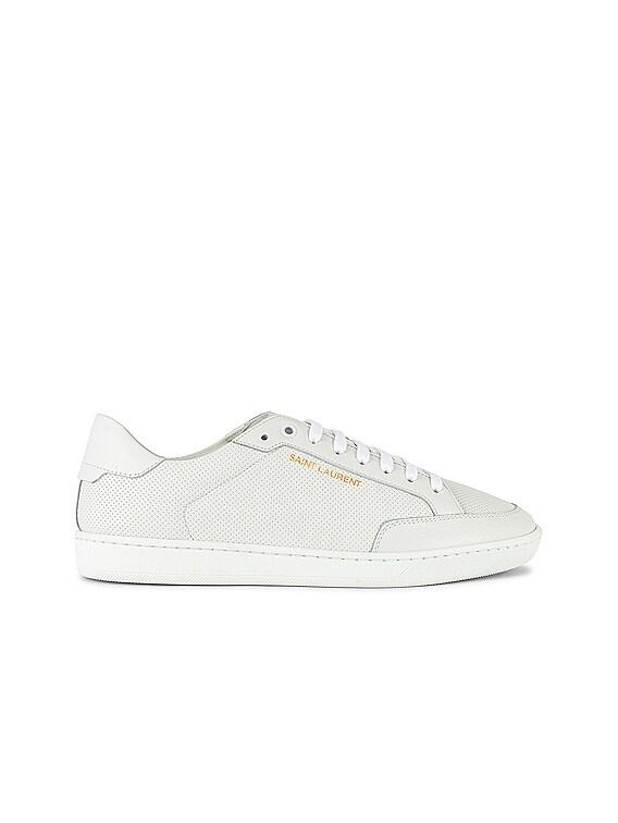 SL /10 Low Top Sneaker in Optic White & Optic White