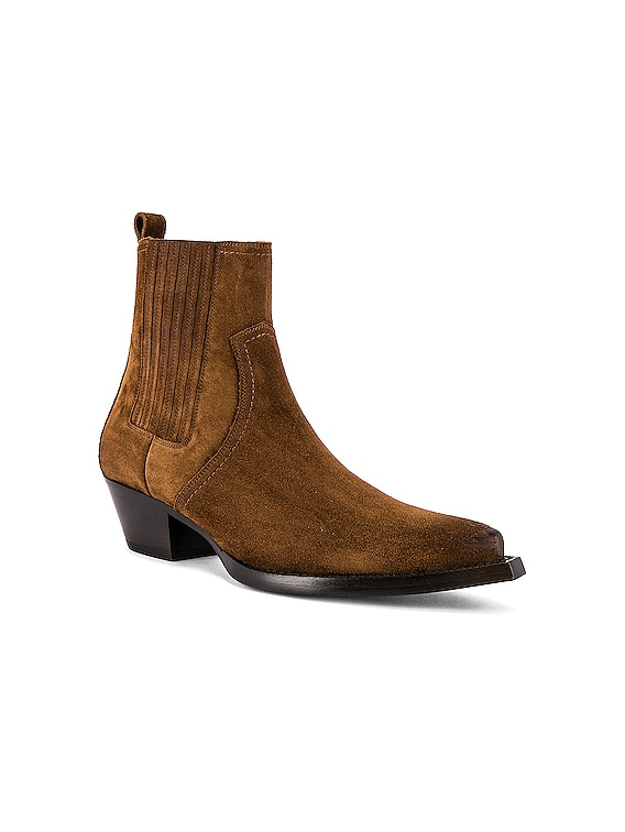 Lukas Suede Boots in Land