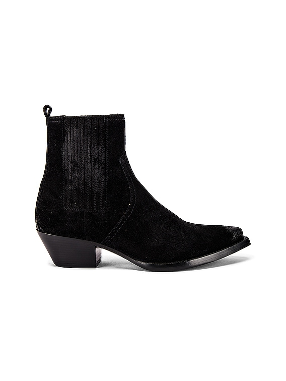 Lukas Suede Boots in Black