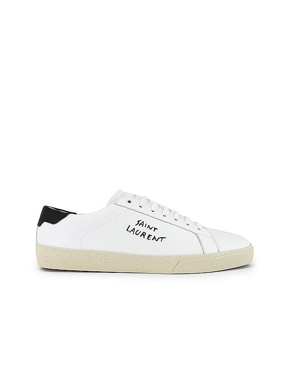 SL06 Signa Low Top Sneaker in Optic White