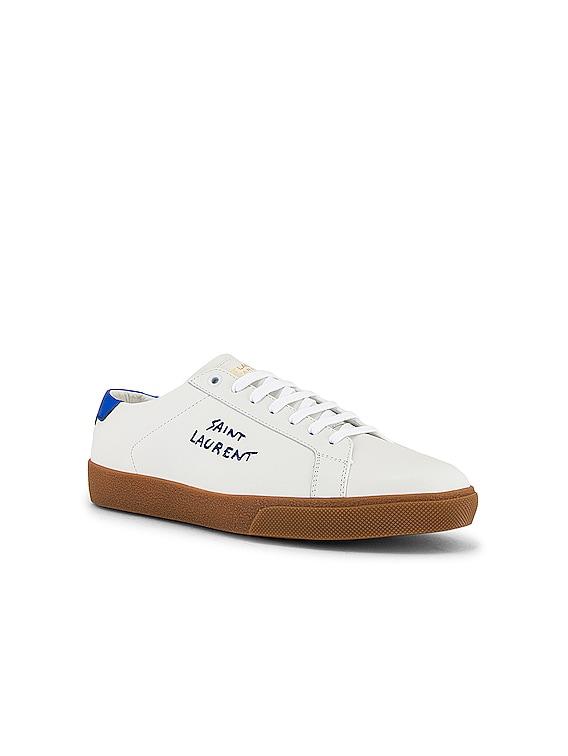 SL06 Signa Low Top Sneaker in Black & Blue