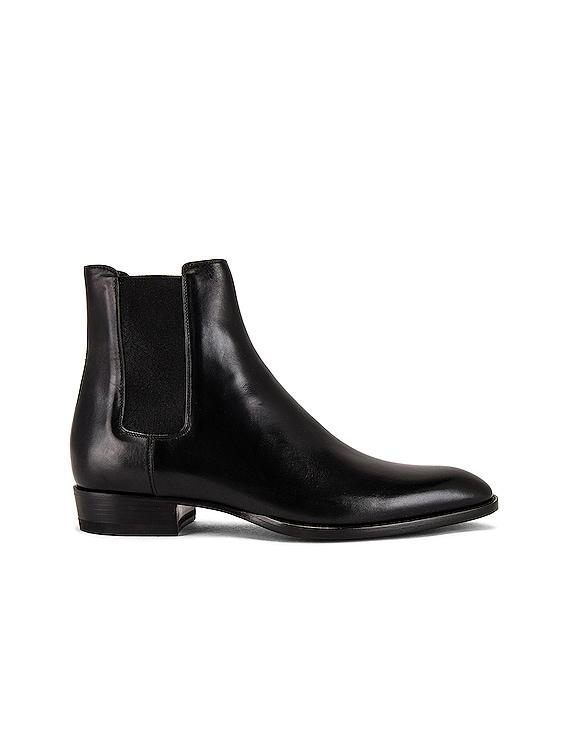Wyatt 30 Chelsea Boot in Black