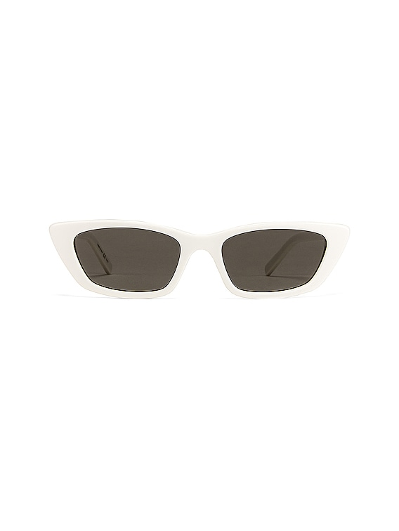 Small Sunglasses in Ivory