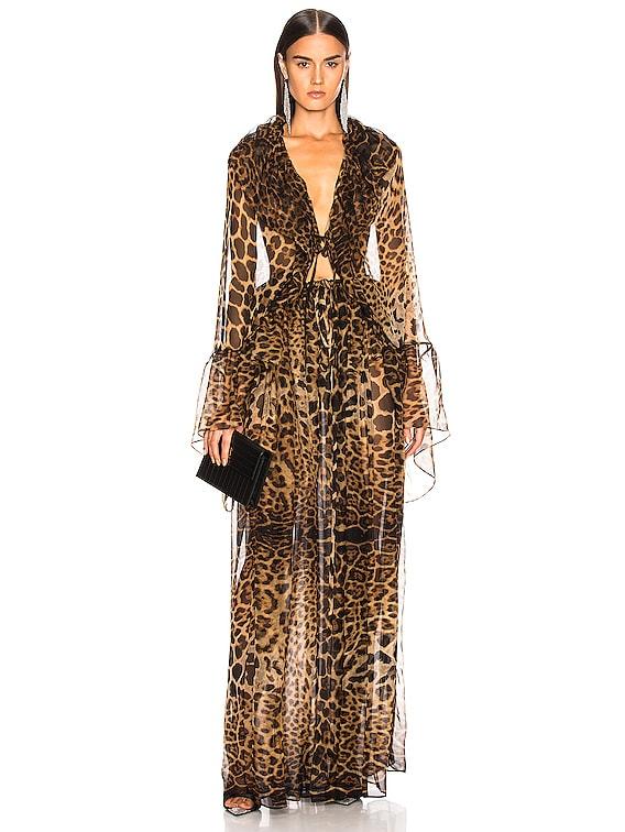 Leopard Dress in Leopard