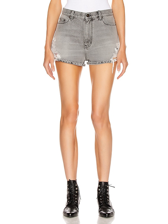 Baggy Short in Sandy Grey
