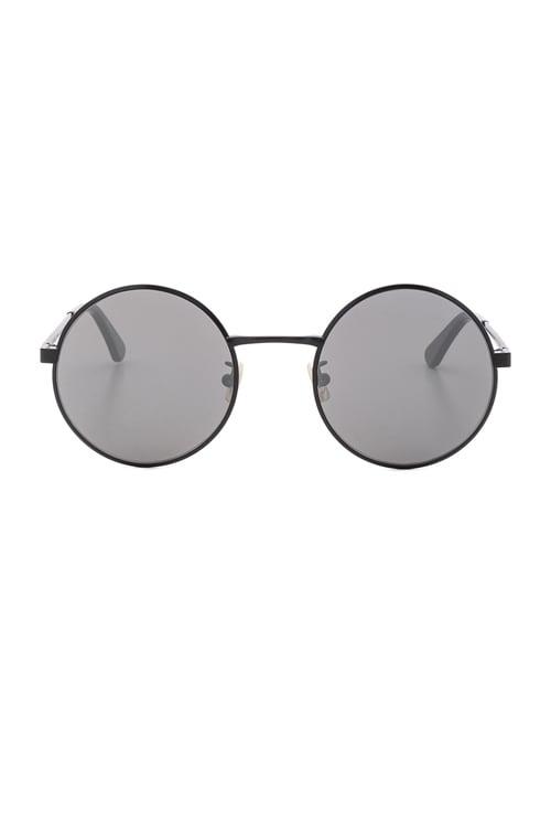 SL 136 Zero Sunglasses in Matte Black & Silver