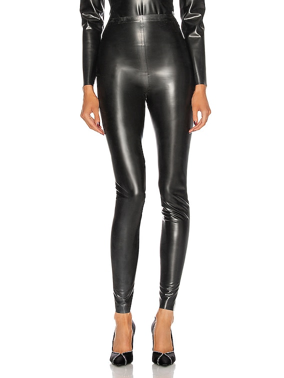 Latex Pant in Noir