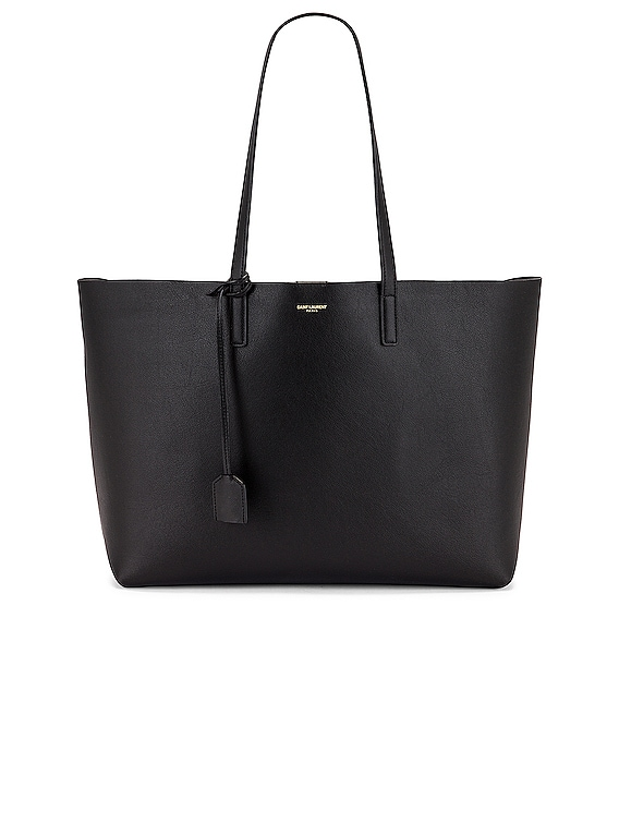 East West Shopping Bag in Black