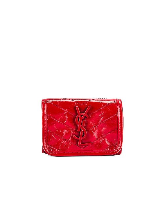 Credit Card Wallet in Rouge Eros
