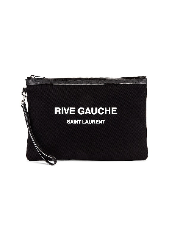 Monogramme Pouch in Black & White