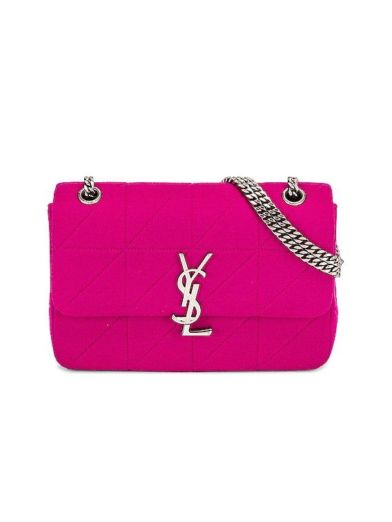 Medium Jamie Lock Chain Bag in Bubble Pink