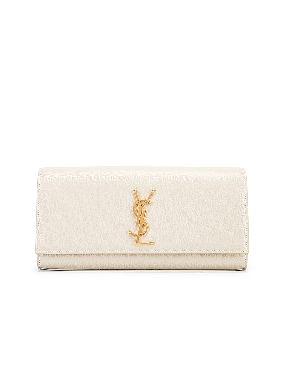 Kate Clutch in Blanc Vintage
