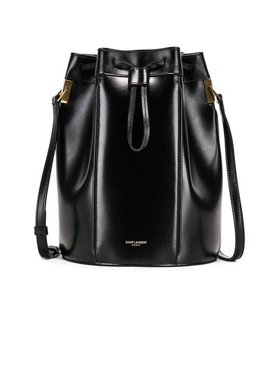 Medium Talitha Pouch Bag in Black