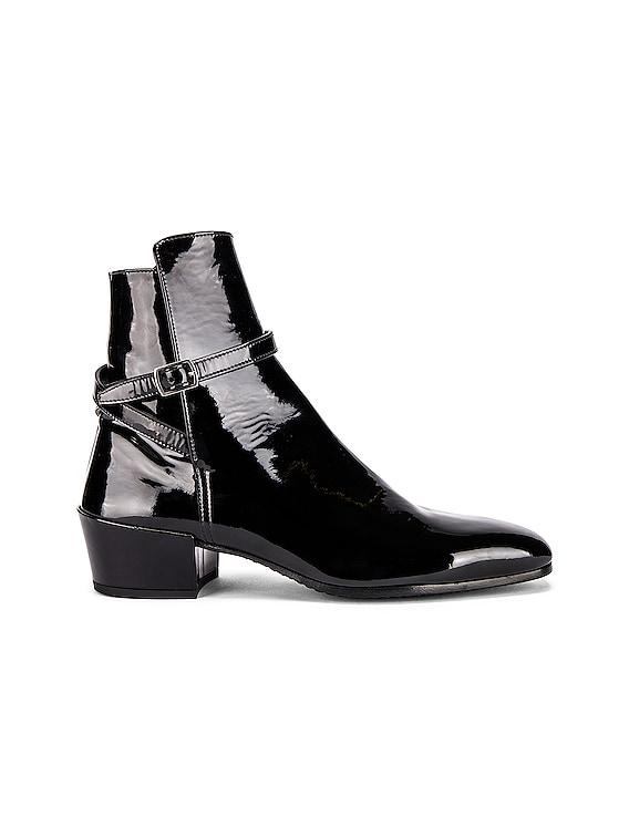 Clementi Jodhpur Booties in Black