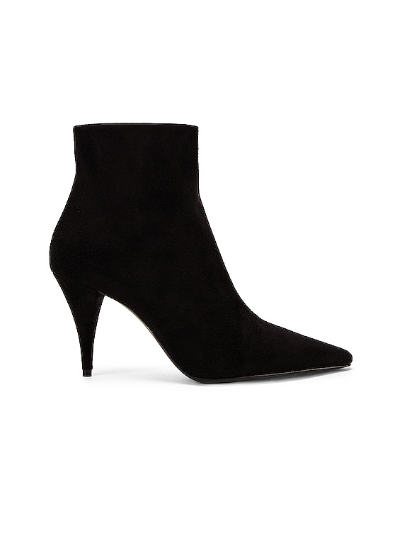 Kiki Zip Booties in Black