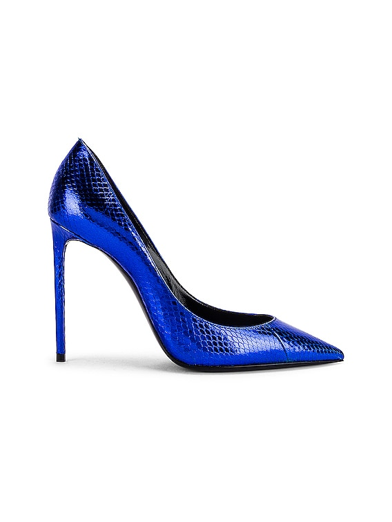Anja Pumps in Electric Blue