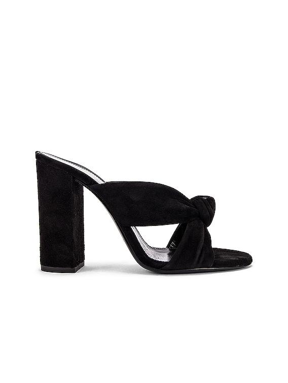 LouLou Mules in Black