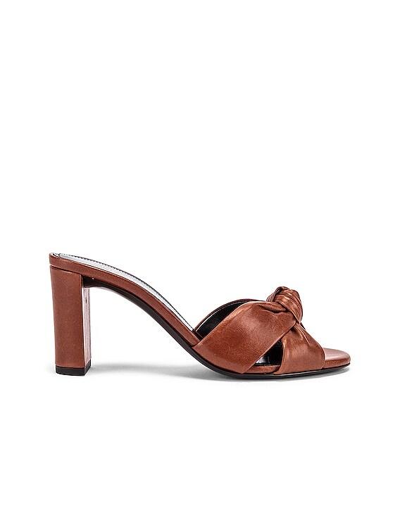 Loulou Mule Sandals in New Papaya