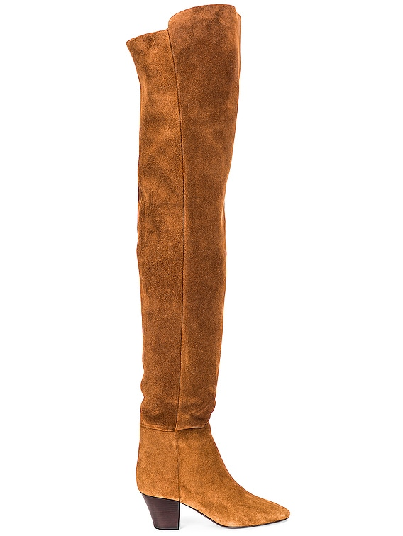 Kim Over The Knee Boots in Land