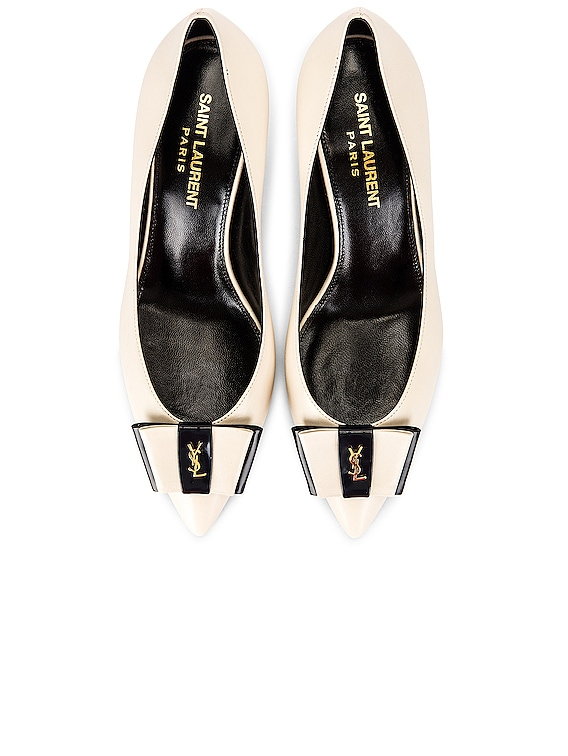 Pierrot YSL Pumps in Pearl & Navy