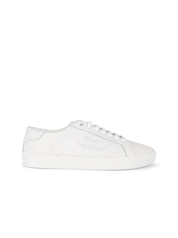 Court Classic Signature Sneakers in Blanc Optique