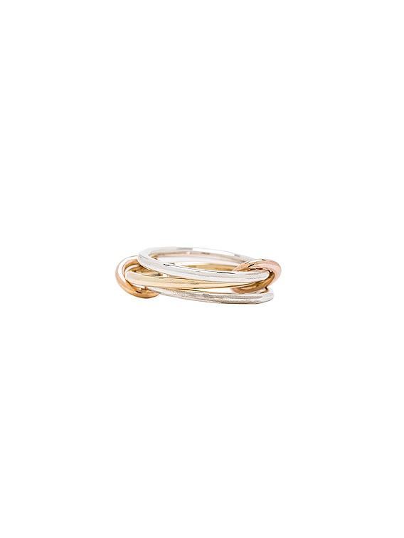 Solarium MX Ring in 18K Yellow Gold
