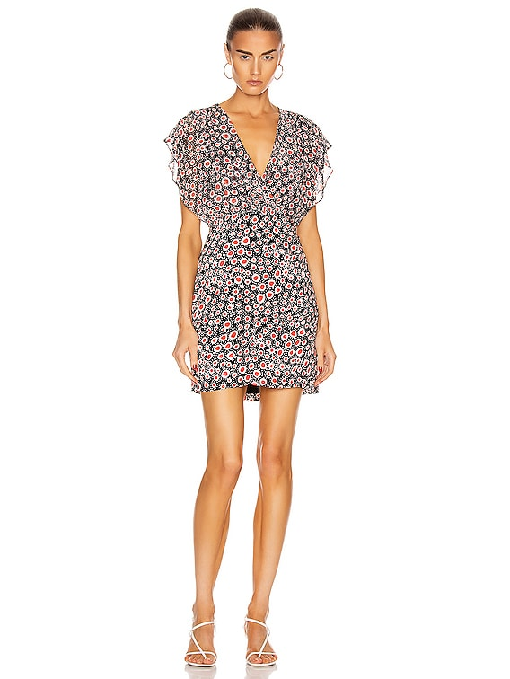 Brooke Dress in Batik Dot