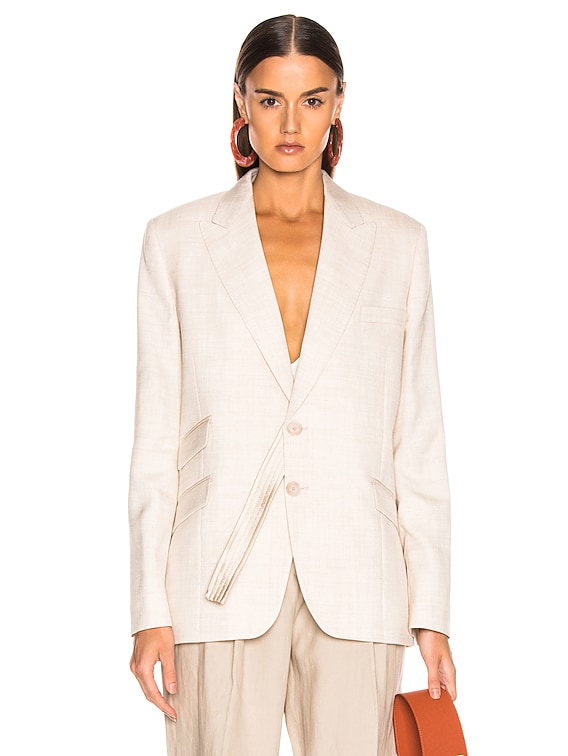 Tailored Jacket in Linen