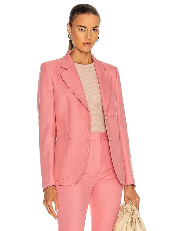 Eleanor Jacket in Pink Frappe