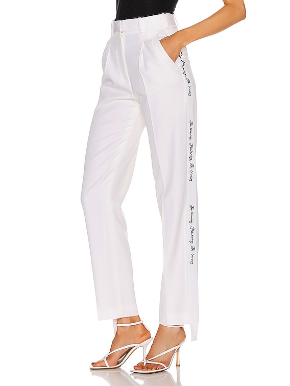 Tailored Pant in Ivory