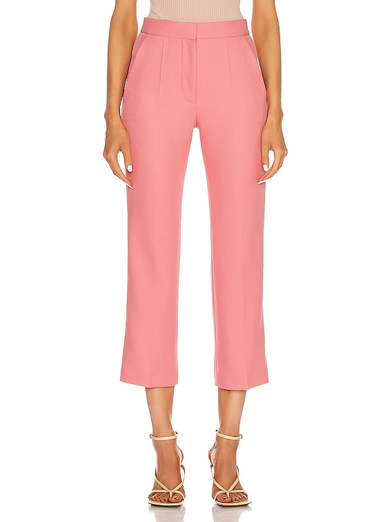 Carlie Tailored Pant in Pink Frappe