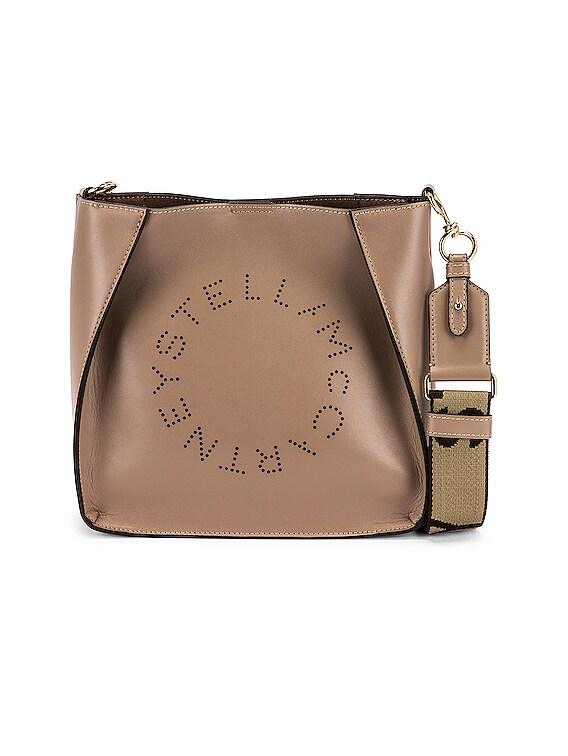 Mini Leather Crossbody Bag in Moss