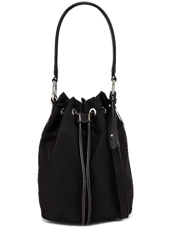 Small Bucket Bag in Black
