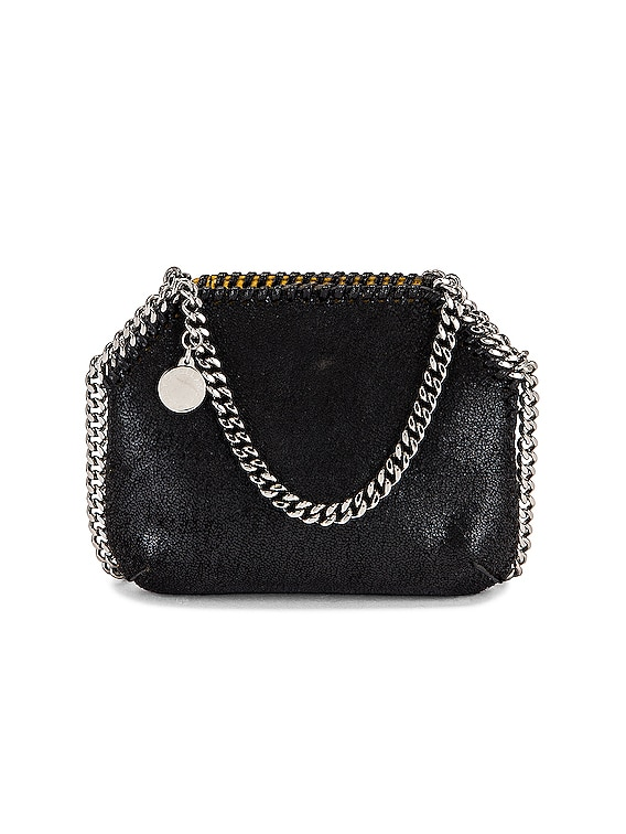 Tiny Falabella Shaggy Deer Tote in Black