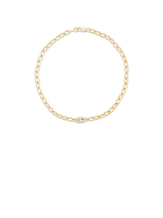 Luxe Diamond Chain Bracelet in Gold & Diamond