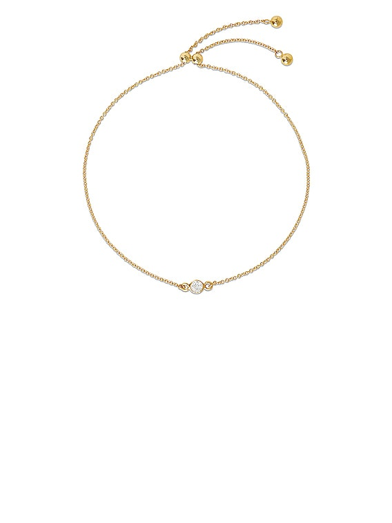 Small Diamond Slider Bracelet in Gold & Diamond
