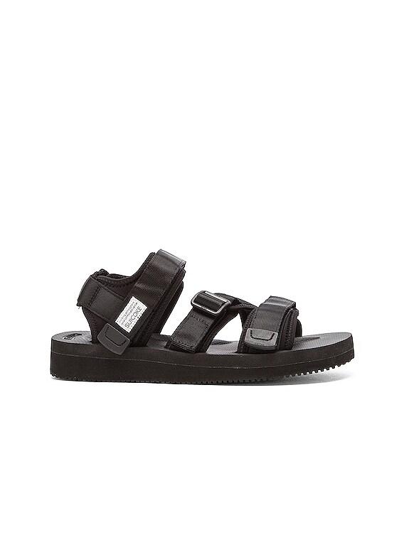 KISEE V Sandals in Black