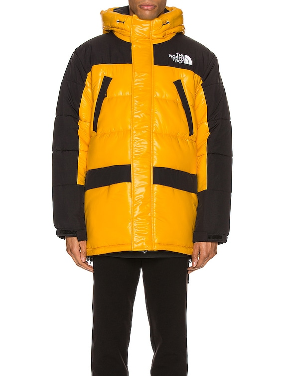Insulated Parka in Summit Gold & TNF Black