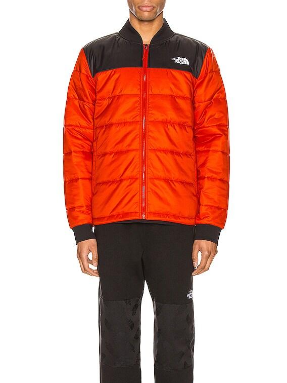 Pardee Jacket in Fiery Red & TNF Black