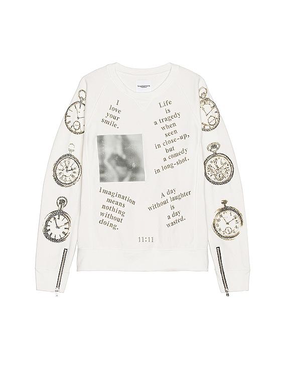 Crewneck Sweatshirt in White